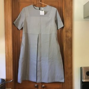 Madeleine Maternity Dress Gray Small New W Tags